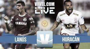 Lanús vs Huracán en vivo online por el Torneo de Primera División