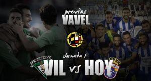 Villanovense - La Hoya Lorca: duelo de revolucionarios