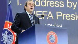 Platini, reelegido como presidente de la UEFA