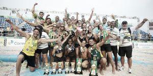 Brasil hace doblete en casa