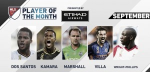 Etihad Airways Player of the Month nominees announced for September