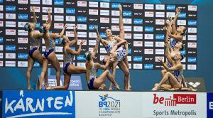 Europei Nuoto 2014, sincronizzato: le azzurre sono di bronzo nel libero combinato
