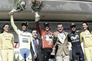 Vuelta a Andalucía 2015: 'tablas' entre Froome y Contador mientras Lobato apunta a San Remo