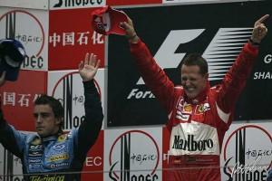 La última gran tarde de Michael Schumacher