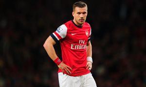 Lukas Podolski considering his future?