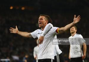 Stunning Lukas Podolski strike gives Germany 1-0 win over England - as it happened