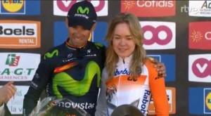 Valverde et Van Der Breggen sacrés au sommet dumur de Huy