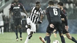 Juventus 3-2 Olympiakos: Juve avoid scare in Turin
