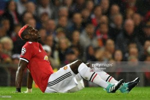 Paul Pogba out with a long term injury, confirms Mourinho