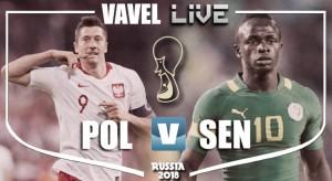 Poland vs Senegal Live Stream Score Commentary in World Cup 2018