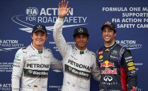 Lewis Hamilton también es el más rápido en España