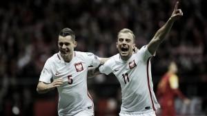Qualificazioni Russia 2018 - Polonia in Russia con il brivido, Montenegro battuto (4-2)