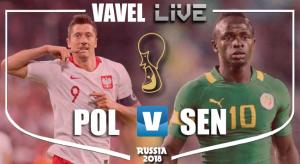 Polonia vs Senegal en vivo y en directo online en Mundial Rusia 2018