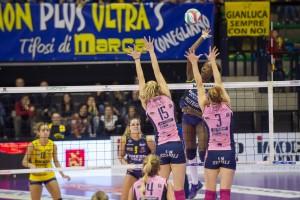 Volley, A1 femminile - Scontro tra capoliste alla terza di ritorno