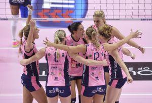 Volley A1 femminile - Cinque scontri diretti nella terza giornata