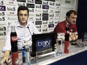"""Manolo Díaz: """"Recibimos una oferta por Sobrino del Manchester y estamos de acuerdo"""""""