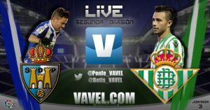 Ponferradina - Real Betis en directo online