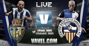SD Ponferradina - CE Sabadell en directo online (3-0)