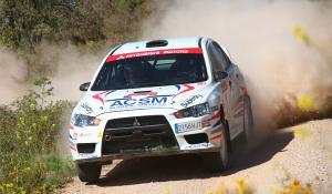 Pons arrasa en el Rally de Cervera