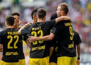 Bundesliga - Il Borussia Dortmud soffre ma vince: 1-2 contro un ottimo Augsburg