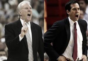Popovich y Spoelstra, nombrados mejores entrenadores de febrero