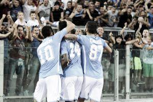 La Lazio se adelanta con pillería