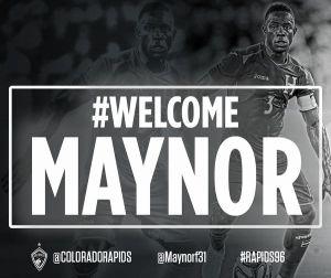 Maynor Figueroa llega a la MLS tras varios intentos
