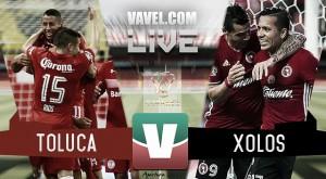 Toluca se lleva la victoria ante Xolos en Copa