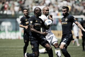 Los Angeles Galaxy sorprende a Timbers