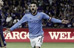 David Villa conquista Orlando