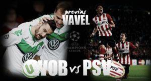 Wolfsburgo – PSV Eindhoven: momento de desequilibrar el grupo