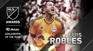 Luis Robles, Allstate MLS Portero del Año 2015