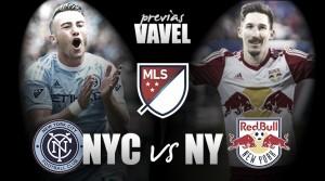 Previa New York City FC – New York Red Bulls: un partido de seis puntos