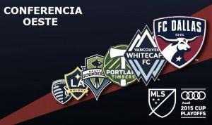 MLS PlayOff´s 2015: clasificados Conferencia Oeste