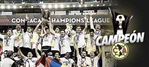Club América, campeón CONCACAF Champions League