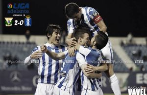Fotos e imágenes del Leganés 2-0 Recreativo de Huelva, jornada 18 de la Liga Adelante