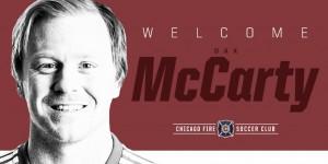 Chicago Fire refuerza su medular con McCarty