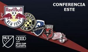 MLS PlayOff´s 2015: clasificados Conferencia Este