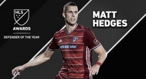 Matt Hedges, MLS Defensa del Año 2016
