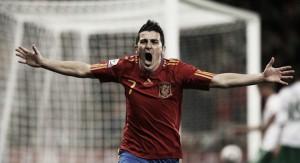 David Villa vuelve donde se merece