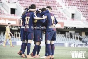 El Barça se clasifica y se divierte