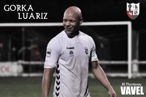 """Entrevista. Gorka Luariz: """" Cuando llegué a Zamudio dije que haría 10 goles como mínimo """""""