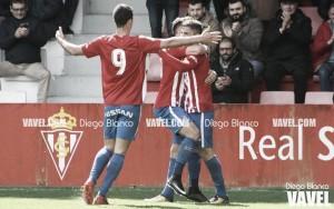 El Sporting B baila al ritmo de Isma Cerro