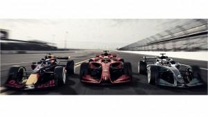 La Fórmula 1 presenta tres conceptos de monoplazas para 2021