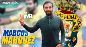"""Entrevista. Marcos Márquez: """"Las Palmas fue el equipo que más me marcó"""""""