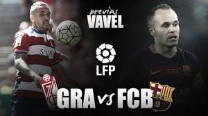 Previa Granada CF - FC Barcelona: una fiesta que decide la Liga