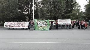 Vuelven las protestas a El Molinón