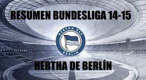 Resumen temporada 2014/2015 del Hertha de Berlín: salvación en números rojos