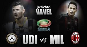 Previa Udinese - Milan: duelo con olor a venganza