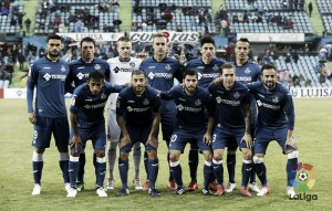 Getafe CF - Real Zaragoza: puntuaciones del Getafe, jornada 15 de la LaLiga 1|2|3